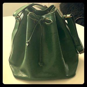 Vintage Louis Vuitton Green Noe